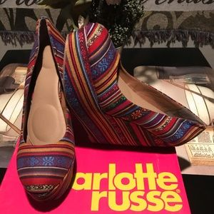 Charlotte Russe Psychadelic Wedges
